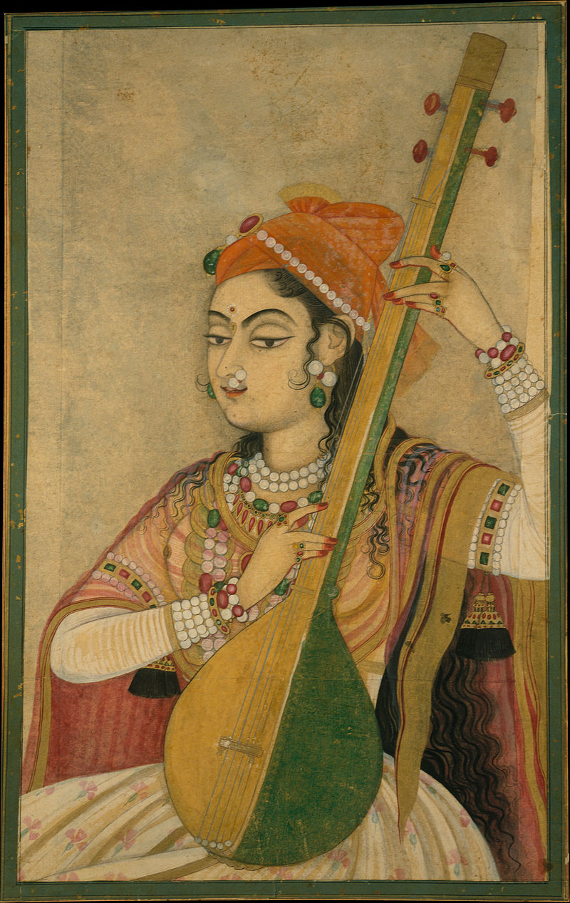 800px-1_A_Lady_Playing_the_Tanpura_ca_1735_metmuseum.jpg