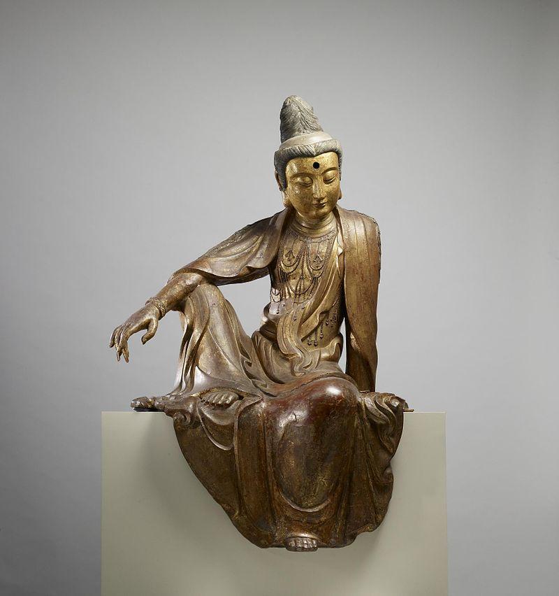 800px-Chinese_-_Seated_Guanyin_(Kuan-yin)_Bodhisattva_-_Walters_25256_(2).jpg