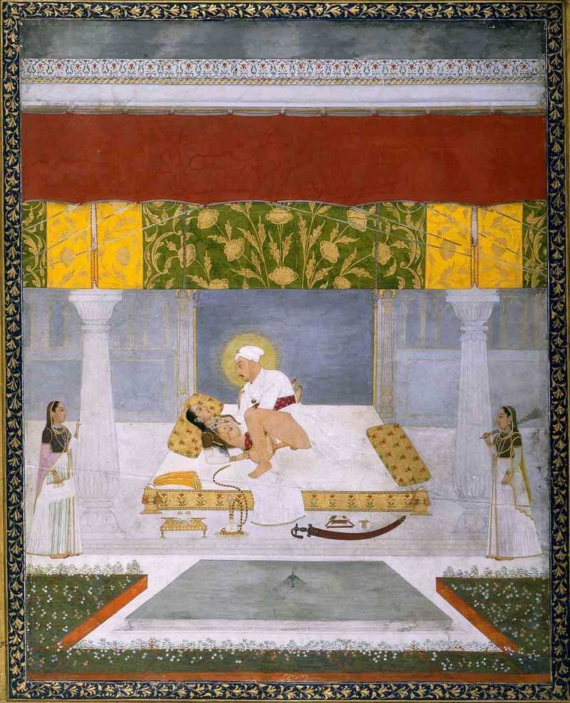 800px-Chitarman._Muhammad_Shah_Making_Love._ca._1735_British_Library,_London.jpg