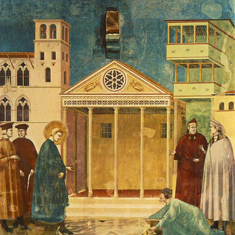 800px-Giotto_-_Legend_of_St_Francis_-_-01-_-_Homage_of_a_Simple_Man.jpg