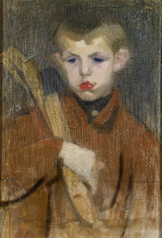 800px-Helene_Schjerfbeck_-_The_Woodcutter_I_-_A-1998-157_-_Finnish_National_Gallery.jpg