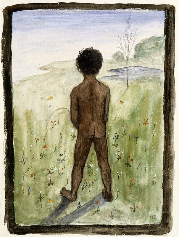 800px-Hugo_Simberg_-_Black_Boy_on_the_Meadow_-_A_II_968-31_-_Finnish_Nationaн_Gallery.jpg