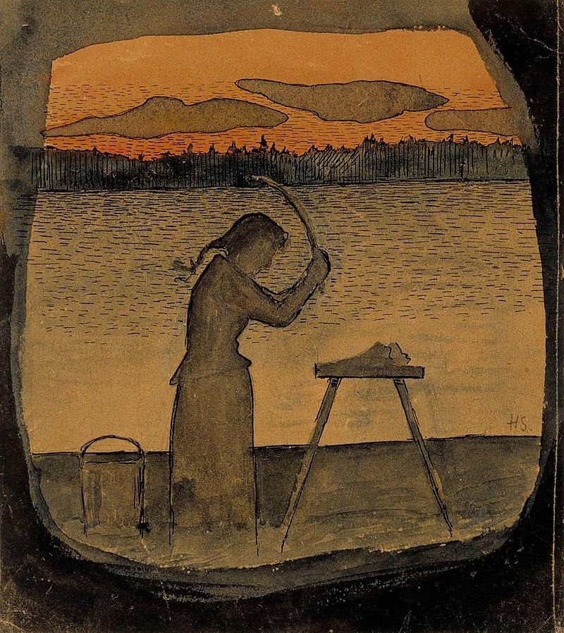 800px-Hugo_Simberg_-_Doing_the_Laundry_-_A_II_968-12_-_Finnish_National_Gallery.jpg