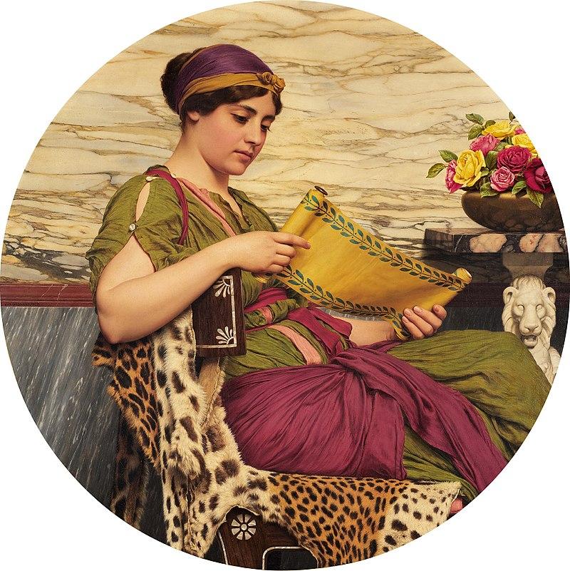 800px-John_William_Godward_-_An_Edition_de_Luxe,_1920.jpg