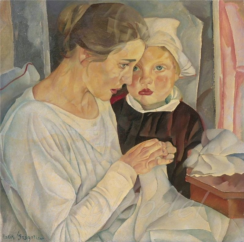 800px-Mother_and_child_by_B._Grigoriev_(1918).jpg