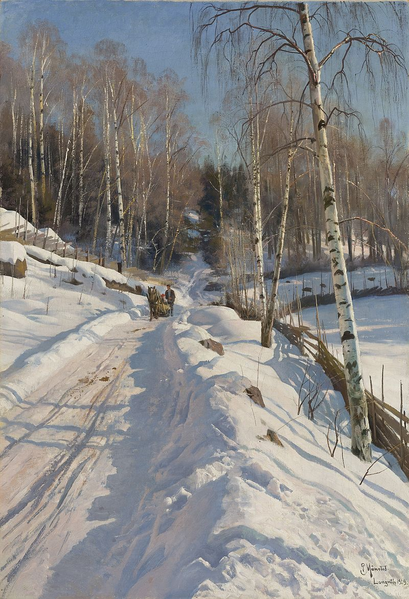 800px-Peder_Mønsted_-_Sleigh_ride_on_a_sunny_winter_day.jpg