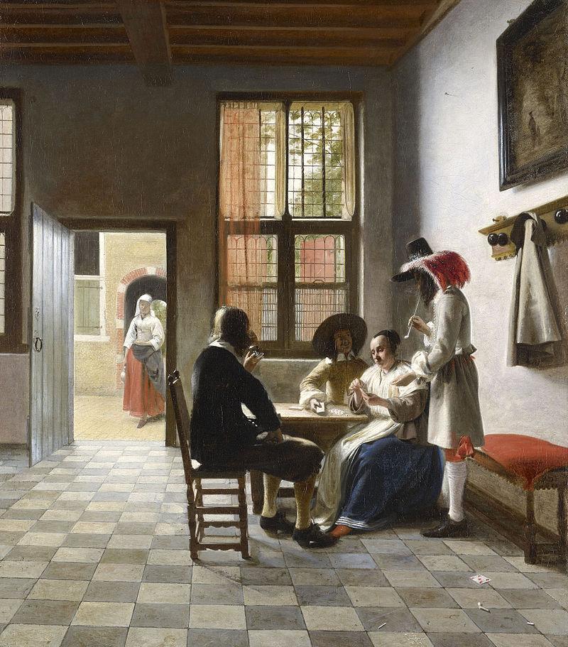 800px-Pieter_de_Hooch_-_Cardplayers_in_a_Sunlit_Room.jpg