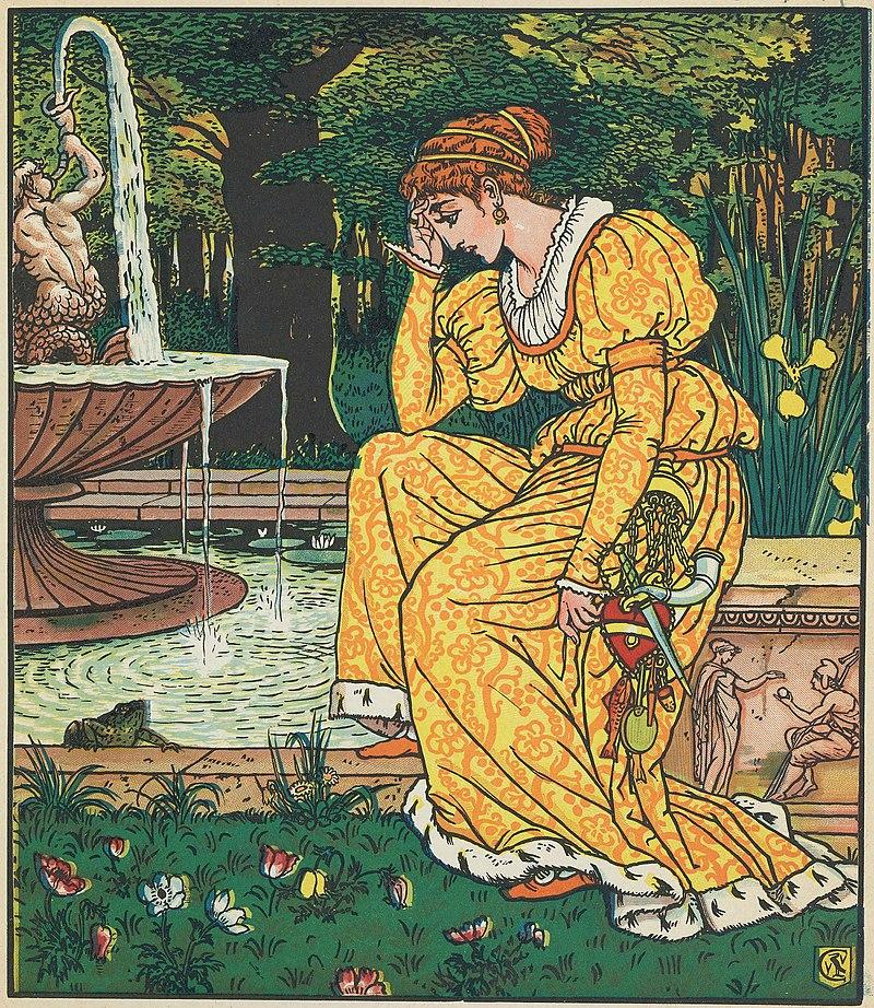 800px-Walter_Crane_The_Frog_Prince 1874.jpg