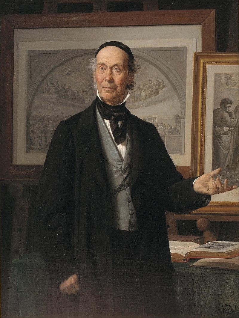 800px-Wilhelm_Marstrand_-_Kunsthistorikeren,_professor_N._L._Høyen.jpg