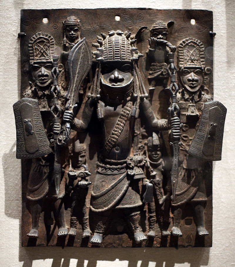800px-WLA_metmuseum_Plaque_Warrior_and_Attendants_Edo.jpg