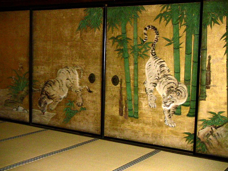82.Нандзэн-дзи. Сёходзё, тигры.JPG