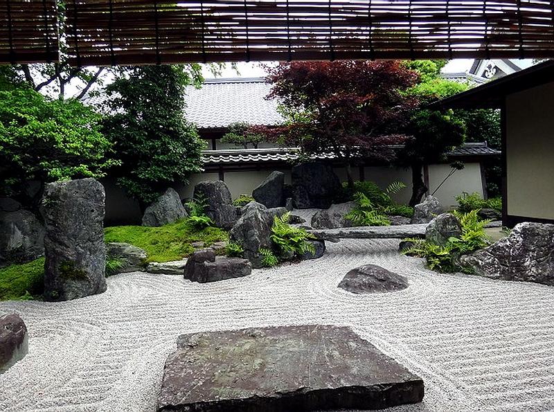 85.Масуно Сюммё.Сад Рюмон-тэй.jpg