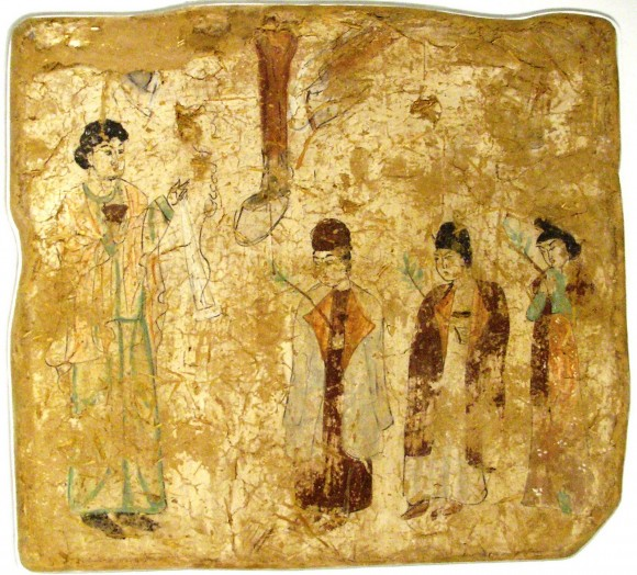 A-depiction-of-Palm-Sunday-in-Khocho-China-683–770-AD-Tang-Dynasty-580x524.jpg