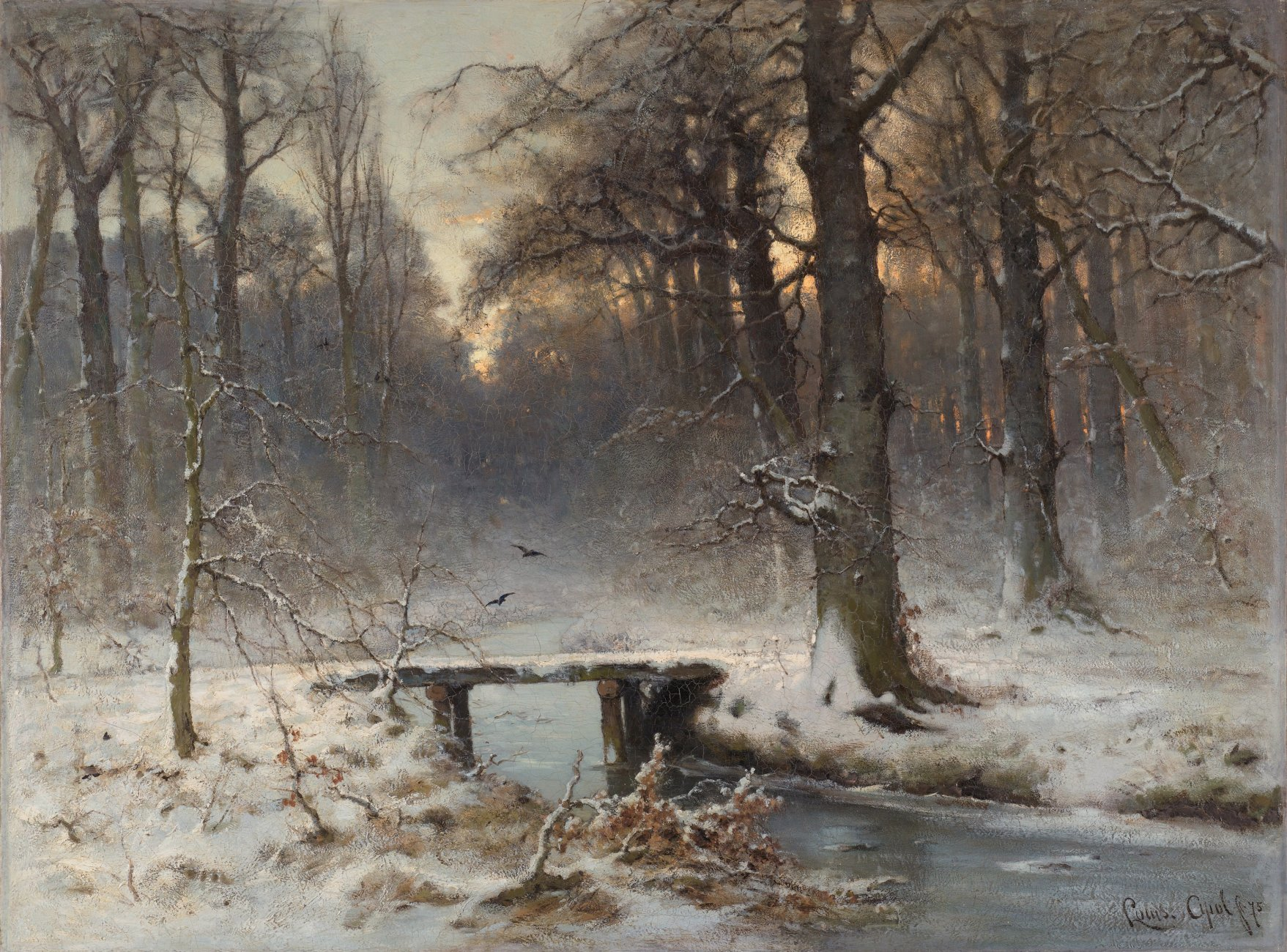 A_January_evening_in_the_Haagse_Bos,_by_Louis_Apol_(1850–1936).jpg