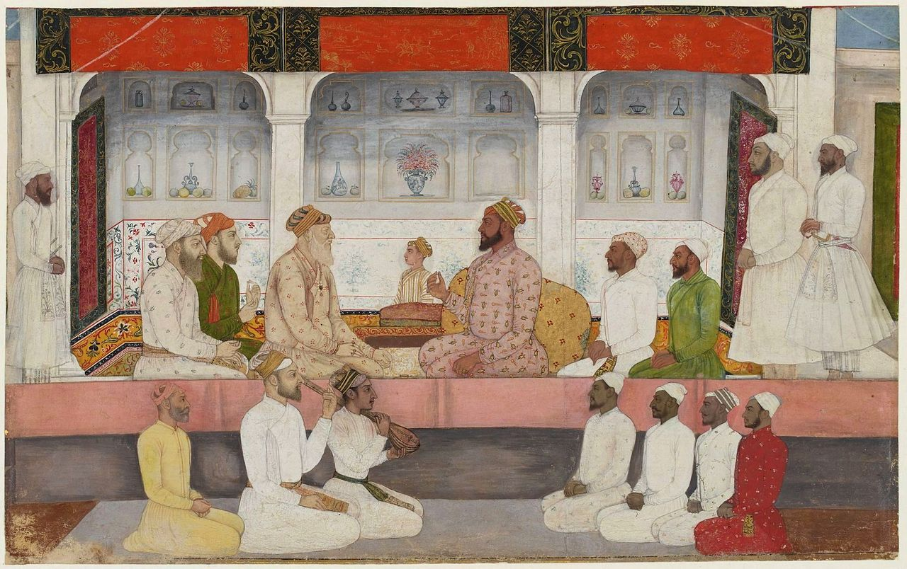 A_seated_portrait_of_Sayyid_Abdullah_Khan_holding_court_Early_18th_century_.jpg