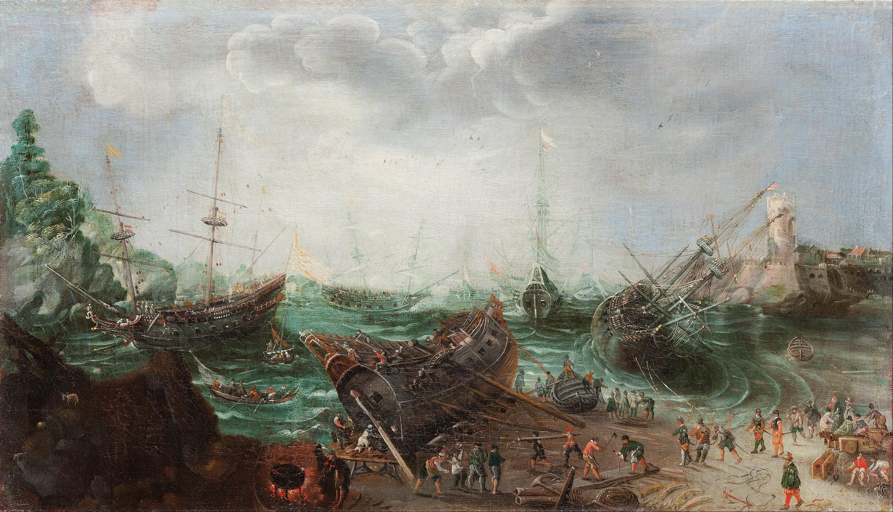 Adam_Willaerts,_attributed_to_-_Harbour_scene_-_9Google_Art_Project.jpg