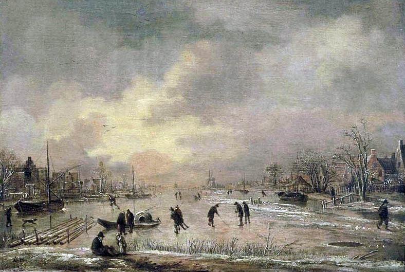 Aert_van_der_Neer_-_Winterlandschap_met_huizen_(ca._1645-1650).jpg