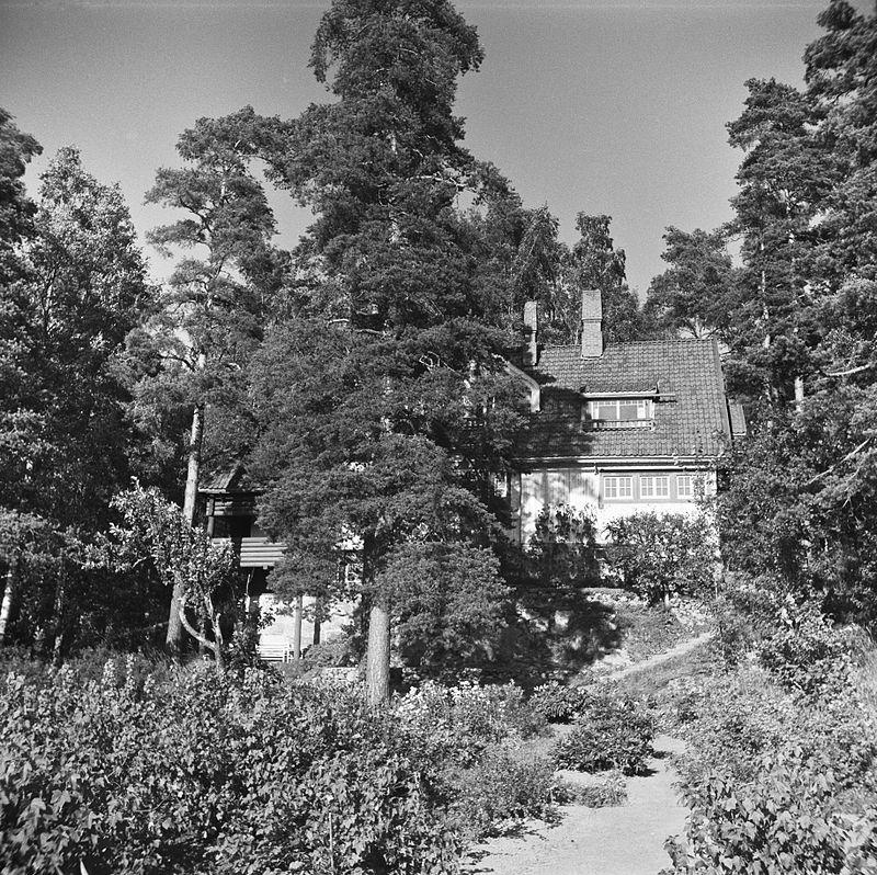 Ainola_puutahan_puolelta,_1940-1945,_(d2005_167_6_116)_Suomen_valokuvataiteen_museo.jpg
