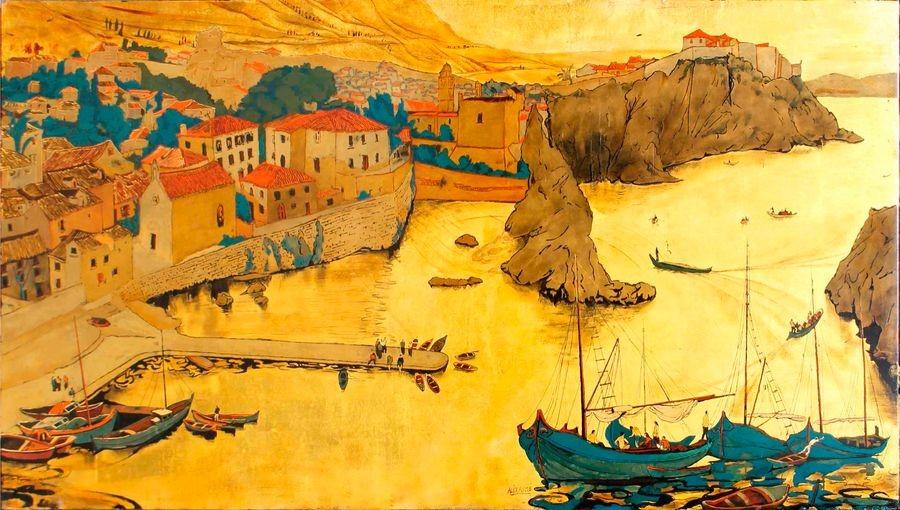 Alix-AYME-1894-1989-Le-port-de-Sarajevo-Laque_1569881830_1230.jpg