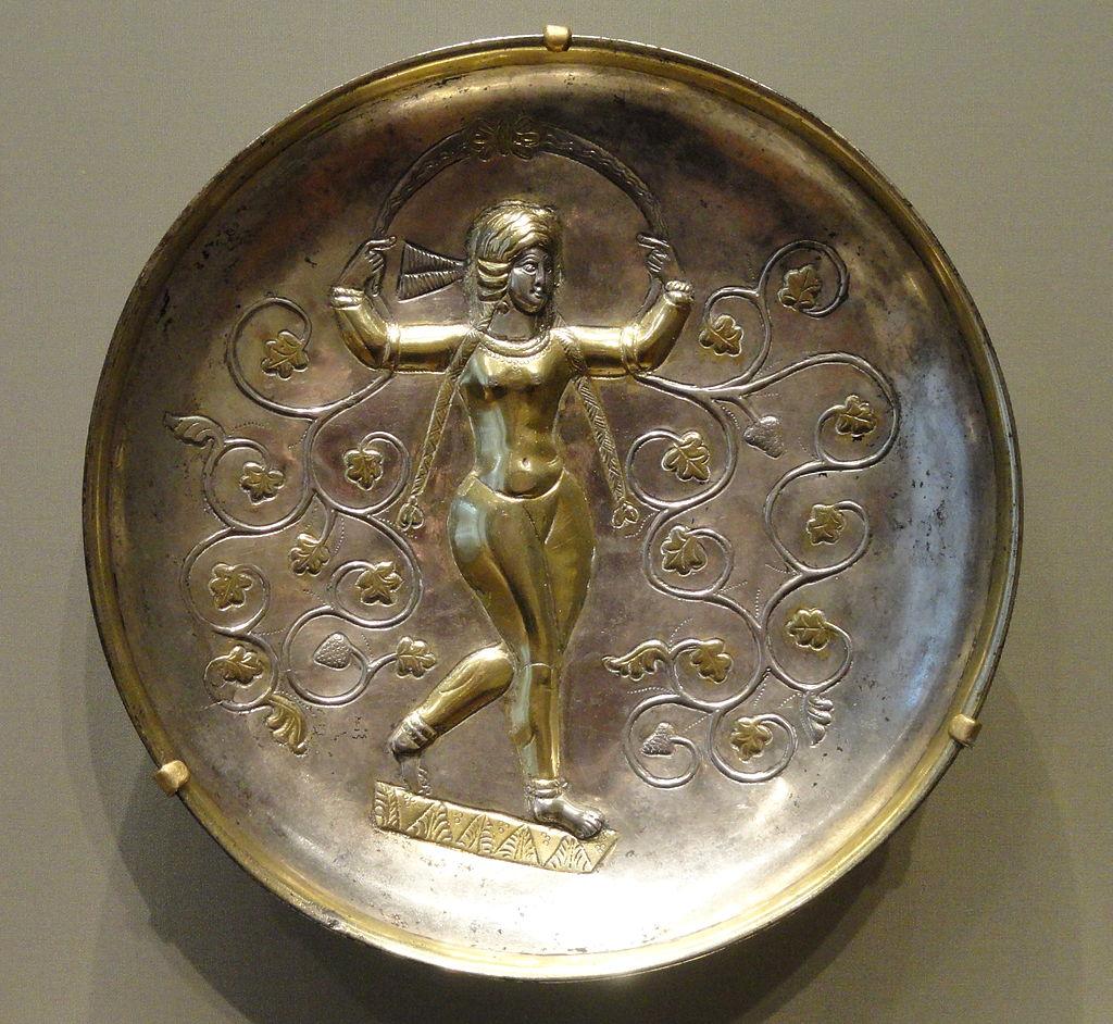 Anahita_Dish,_400-600_AD,_Sasanian,_Iran,_silver_and_gilt_-_Cleveland_Museum_of_Art_-_DSC08123.JPG