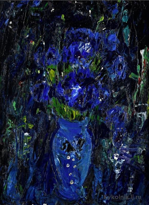 Anne Redpath (British, 1895-1965) «Cornflower».jpg
