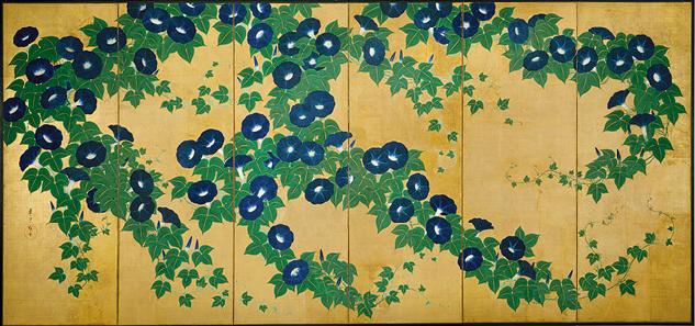 Asagao-zu_Byōbu_by_Kiitsu_Suzuki.jpg