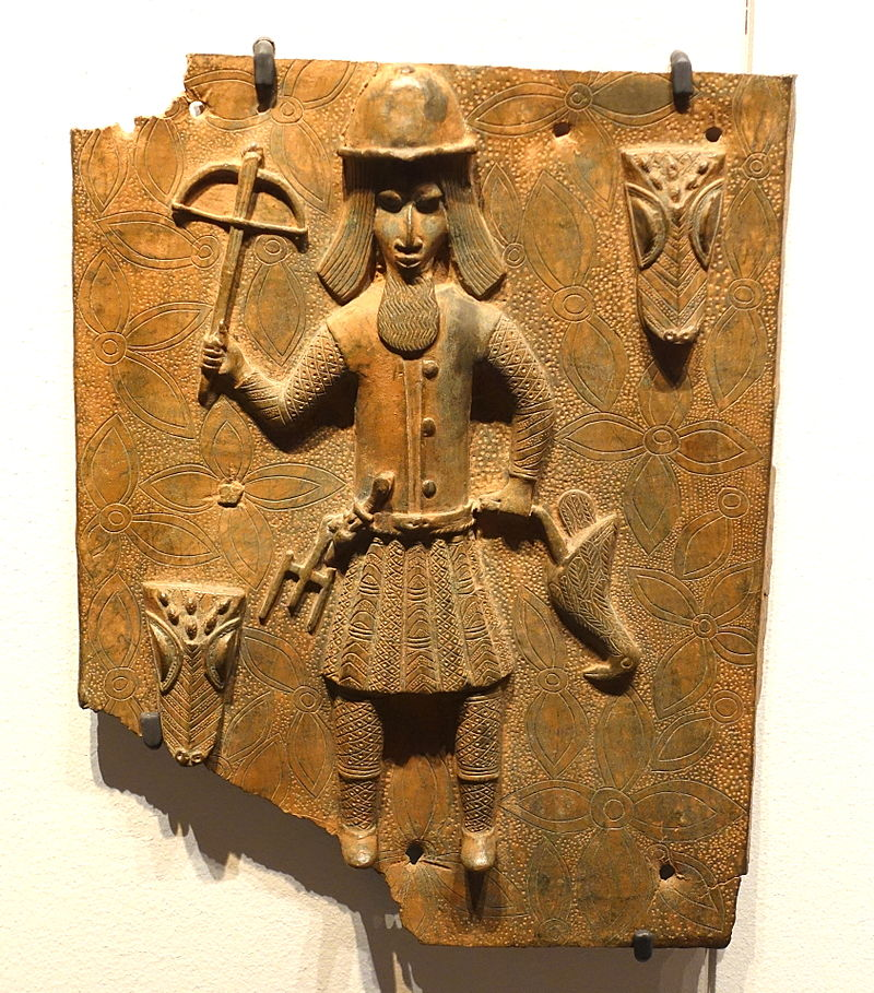 Benin_plaque_in_the_Ethnological_Museum,_Berlin_-_059.JPG