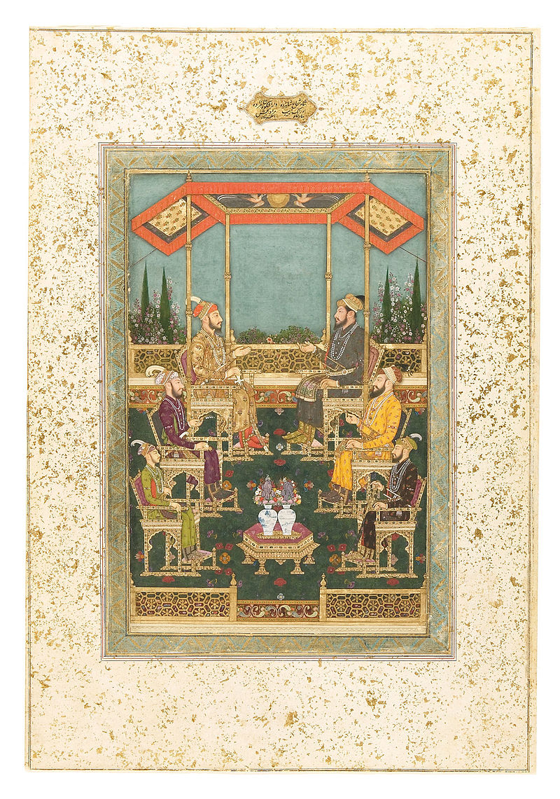 Bhavanidas._four_sons_and_two_grandsons_of_Shah_Jahan._1700-1710,_.jpg
