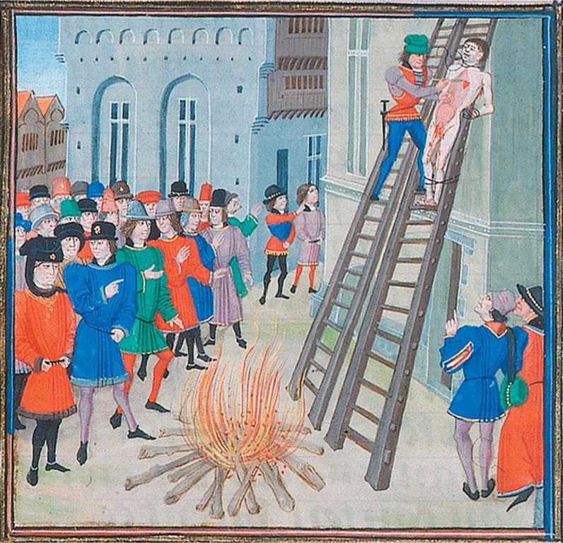 criminal punishment in the 16th and 17th centuries In the 16th and 17th centuries, poor people didn't travel much if you saw a carriage on one of the king's rutted, muddy highways, or even a rider branding was a relatively mild punishment after the trial was finished, the guilty party was, immediately and in front of the court, burned on the thumb with.