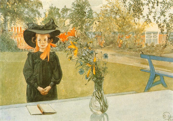 Carl Larsson - Kersti In Black.jpg