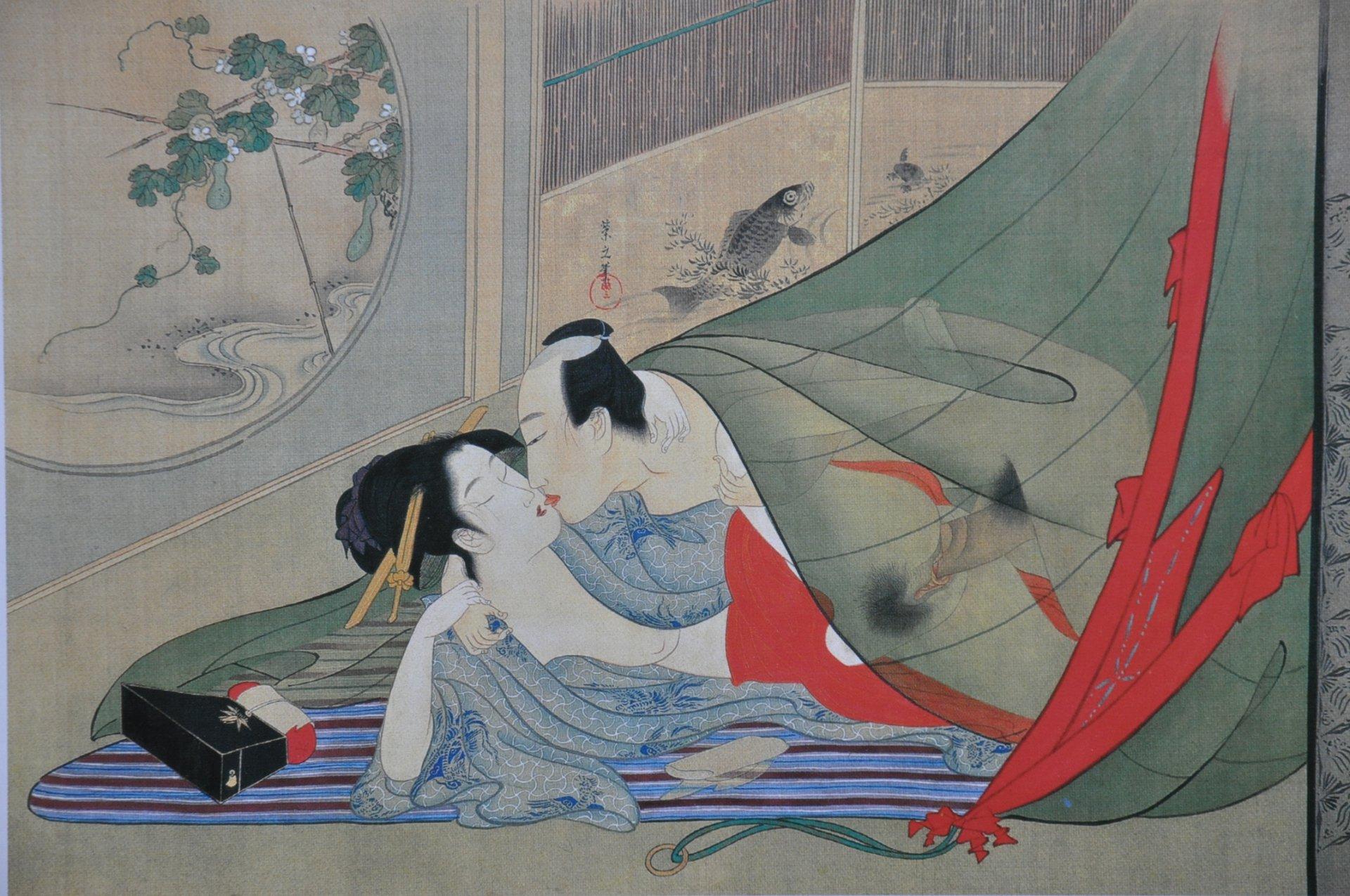 Искусство японского секса смотреть он