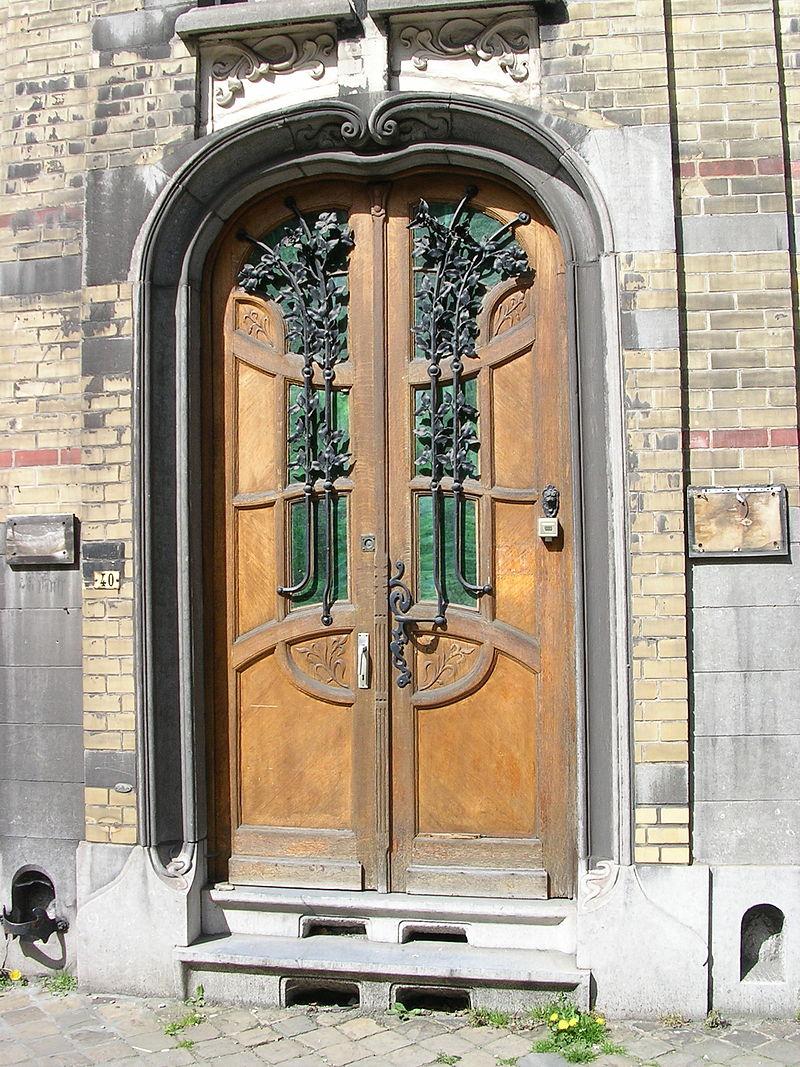 Charleroi_-_Maison_des_médécins_-_porte_d'entrée.jpg