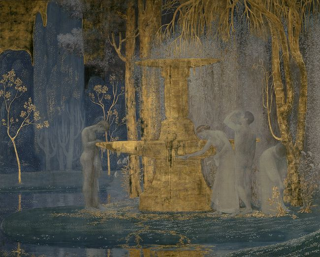 Constant montald + The Fountain Of Inspiration +1907 + Royal Museum.jpg