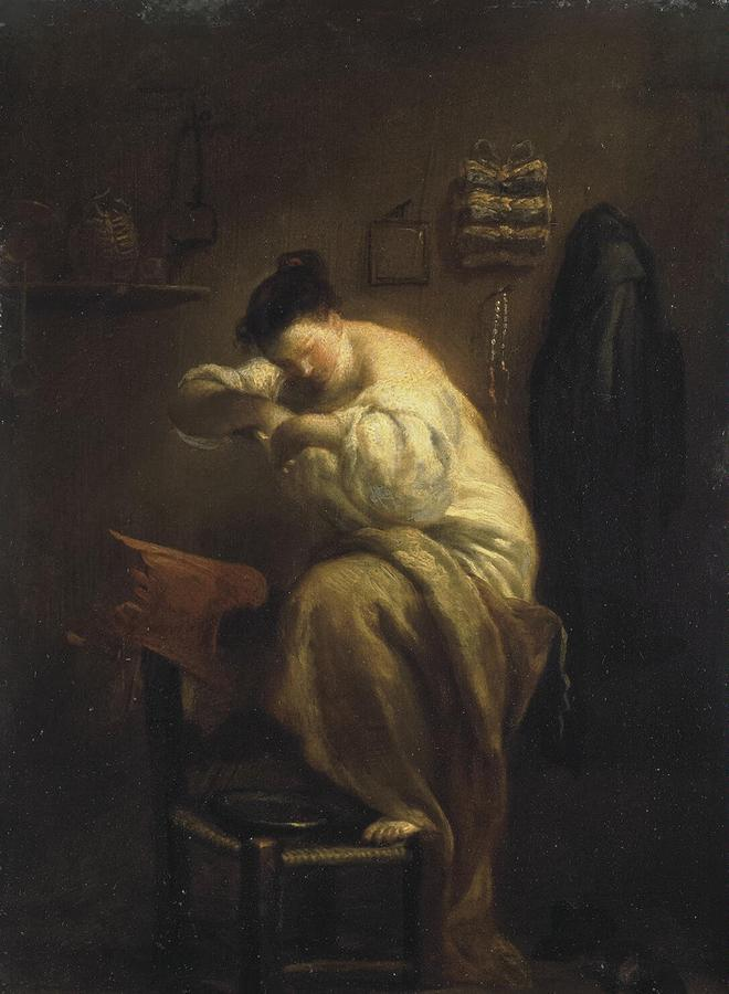 Crespi_Giuseppe_Maria_(Lo_Spagnolo)-ZZZ-Woman_Looking_for_Fleas.jpg