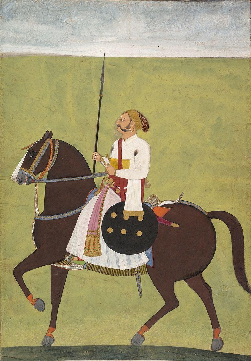 Dalchand_(attr.)_Equestrian_Portrait_of_a_Nobleman,_Jodhpur,_1720-30,_.jpg