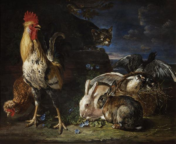 David_de_Coninck_-_A_Cat_Watching_Rabbits_and_Fowl.jpg
