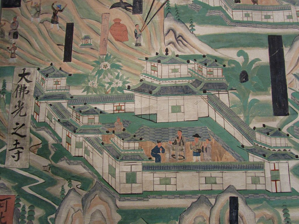 Detail_of_Foguang_Temple_from_Mogao_Cave_61_2013-12.JPG