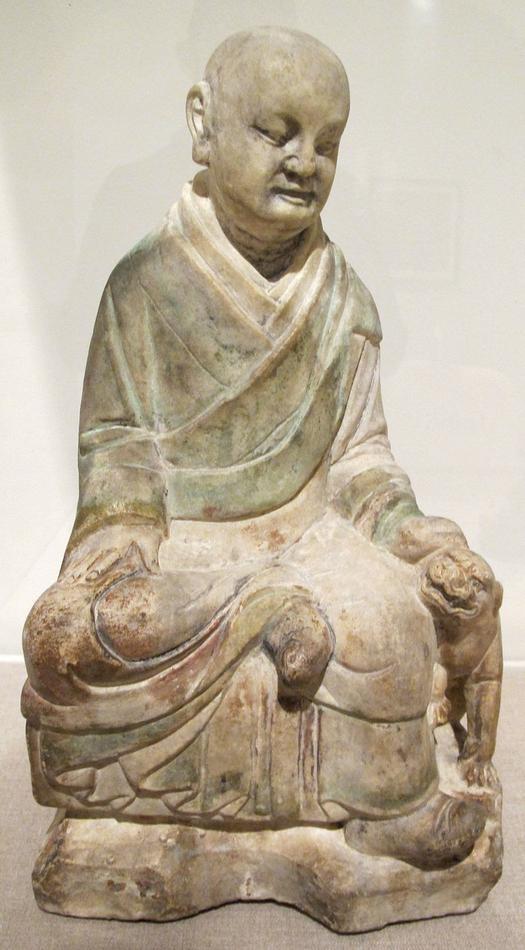 Dinastia_song_del_nord,_luohan_con_cucciolo_di_tigre,960-1127_ca..JPG