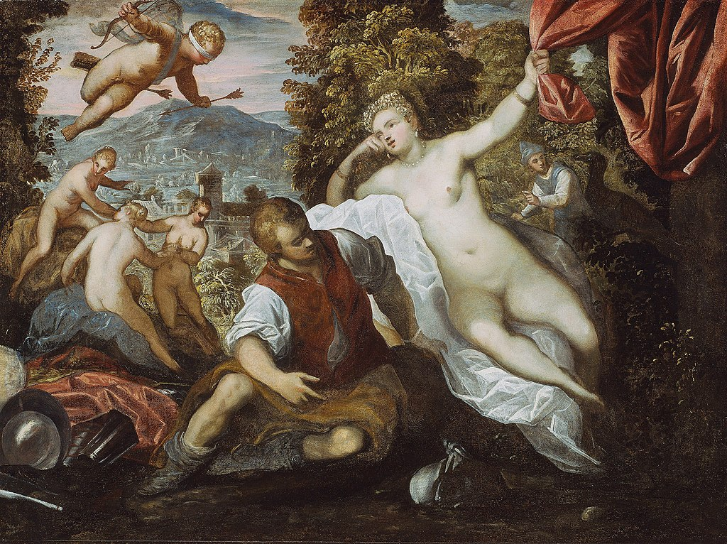 Domenico_Tintoretto_-_Venus_and_Mars_with_Cupid_and_the_Three_Graces_in.jpg