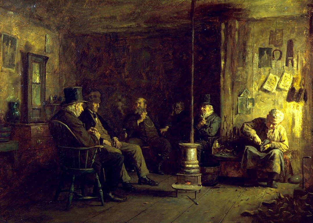 Eastman_Johnson_-_The_Nantucket_School_of_Philosophy_-_Walters_37311.jpg