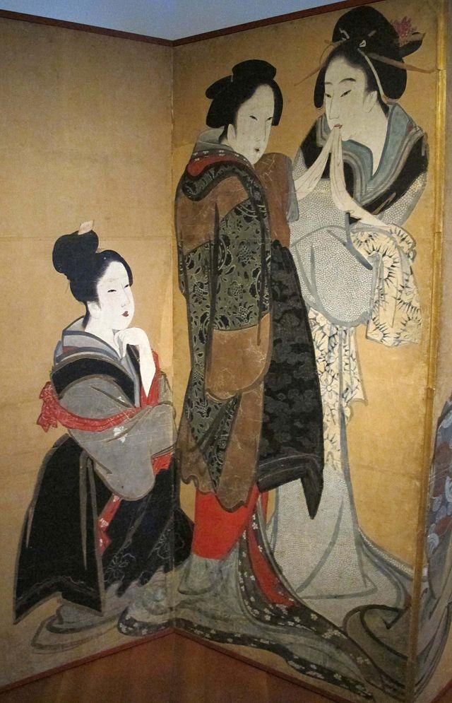 Edo,_scuola_di_hokusai,_nove_donne_che_fanno_il_gioco_della_volpe,_1750-1800_ca._02.JPG