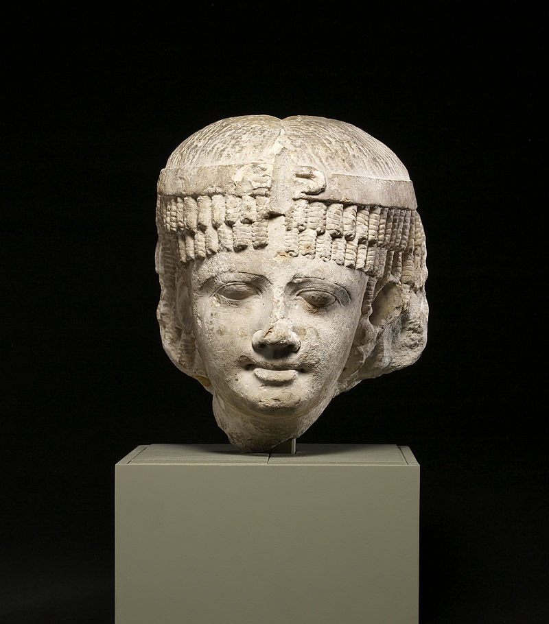 Egyptian_-_Head_of_a_Queen,_Perhaps_Cleopatra_II_or_Cleopatra_III_-_Walters_22407_(2).jpg
