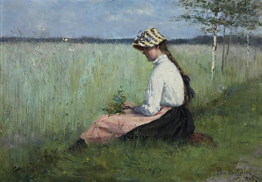 Elin Danielson-Gambogi 1885 Girl in a Meadow.jpg