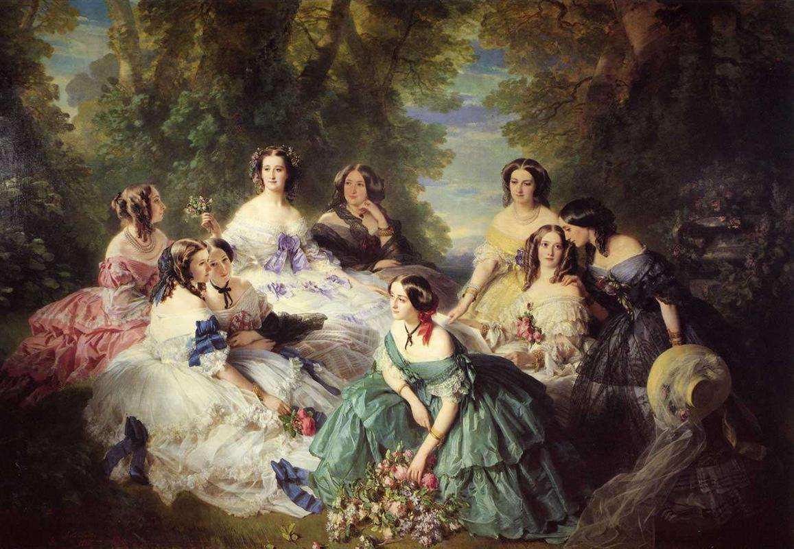 empress-eugenie-surrounded-by-her-ladies-in-waiting-1855.jpg!HalfHD.jpg