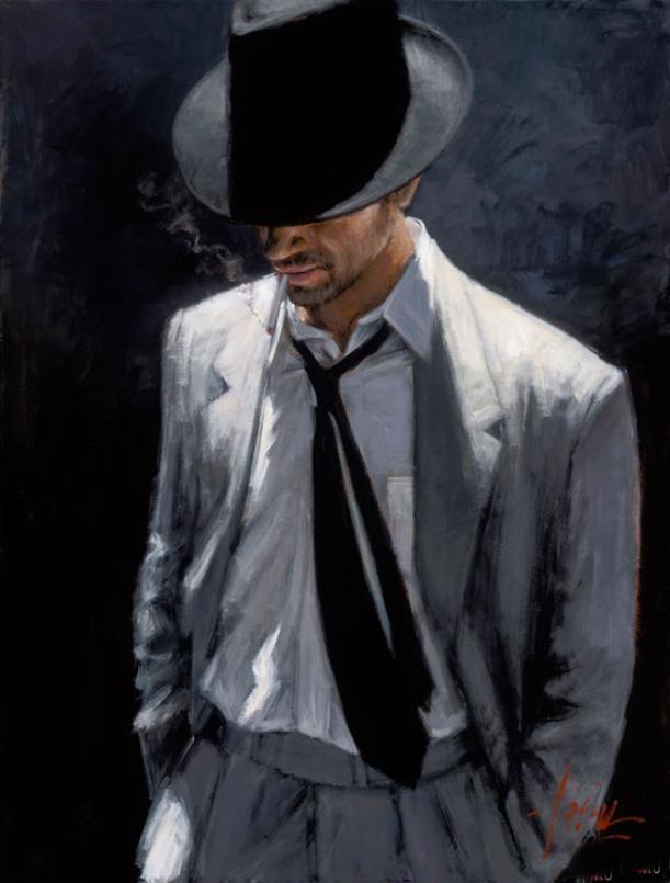 Fabian Perez 1967 - Argentine Figurative painter - Male Painting - Tutt\'Art@ (6).jpg
