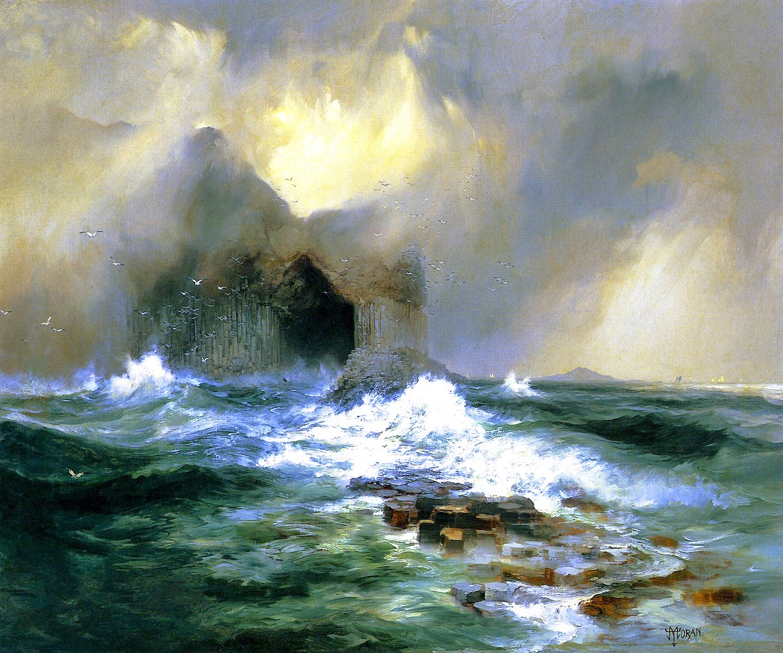 Fingals-Пещера-остров-Стаффа-шотландия-Томас-Моран-Без-Рамы.jpg