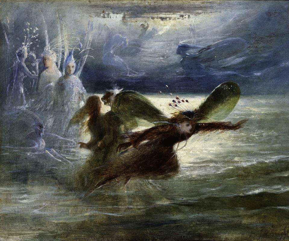 Fitzgerald,_Sea_Sprites_in_Flight 1860.jpg