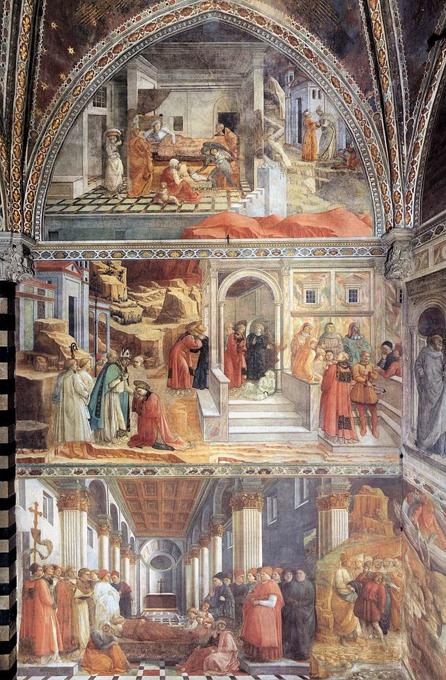 Fra_Filippo_Lippi_-_View_of_the_left_(north)_wall_of_the_main_chapel_-_WGA13258.jpg