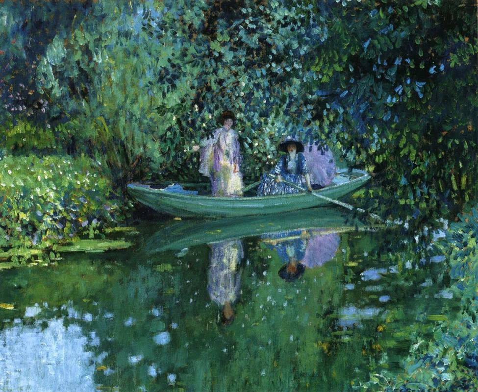 Frederick Carl Frieseke - Grey Day on the River.jpg