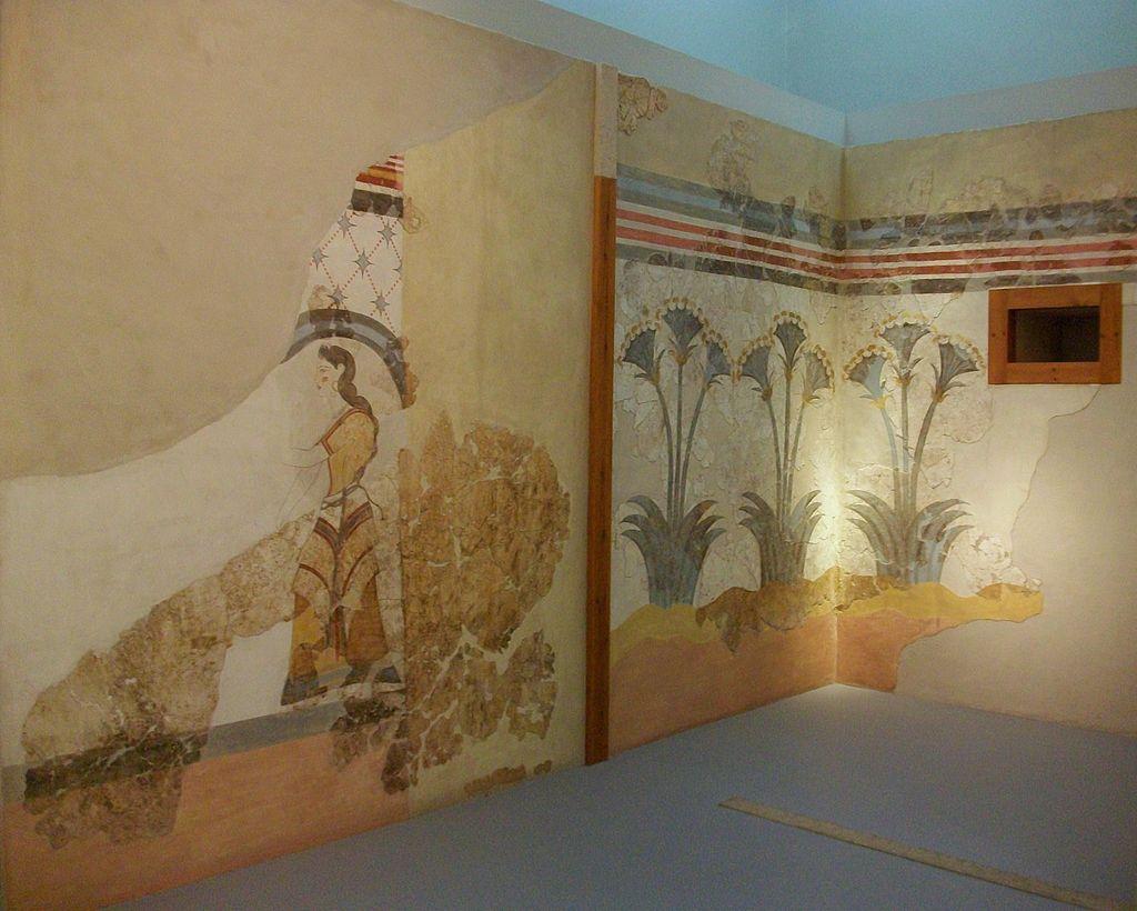 Frescos_de_la_\'Casa_de_les_Dames\'_d\'Akrotiri,_Museu_de_la_Prehistòria_de_Thira,_Santorí.JPG
